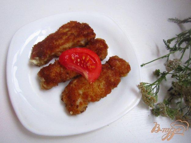 фото рецепта: Пангасиус в хлебно-чесночной панировке
