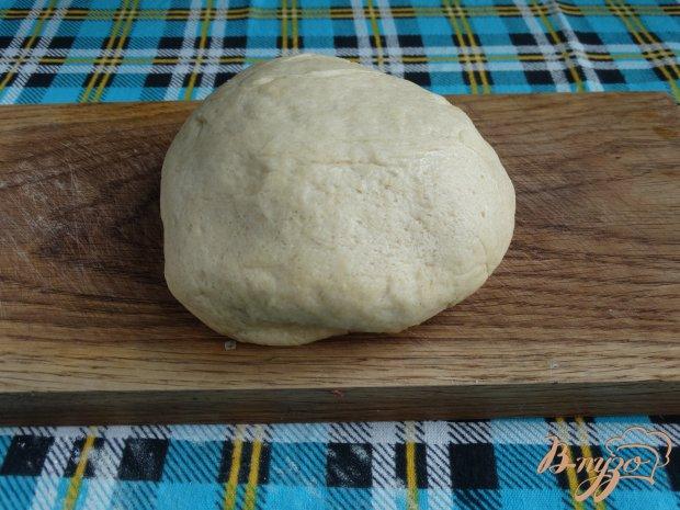 Рецепт Стромболи с грибами и колбасой