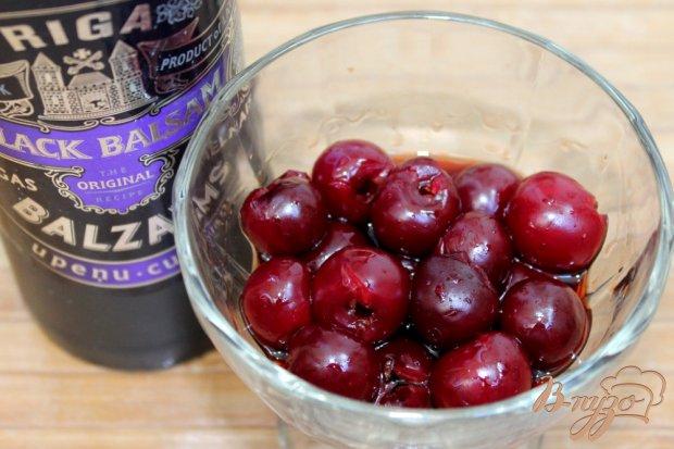 Рецепт Творожный мусс с пьяной вишней