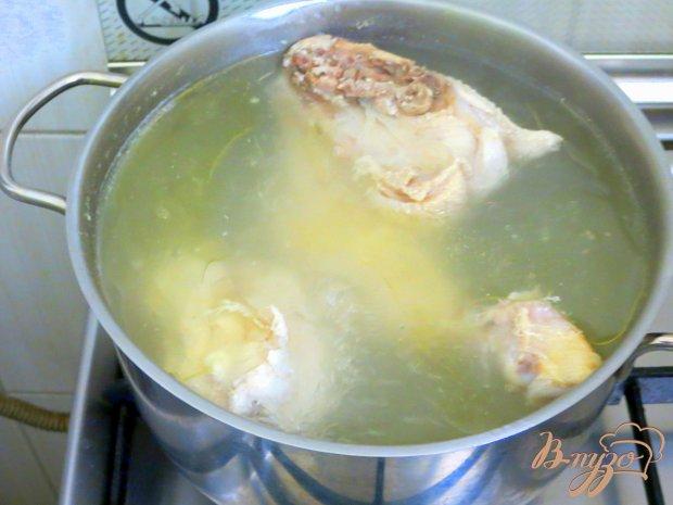 Рецепт Суп с рисовый с томатами