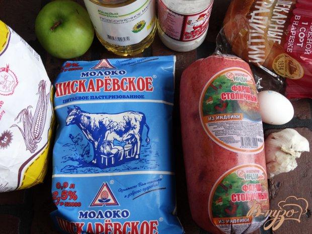 Рецепт Индюшиные котлеты с зеленым яблоком