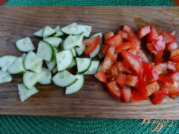 Рецепт Салат с авокадо и рисом