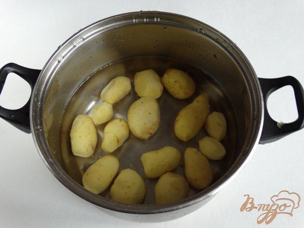 Рецепт Молодой картофель по-украински с салом