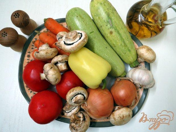 Рецепт Икра кабачковая с грибами