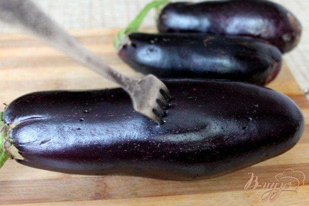 Рецепт Салат из печеных баклажанов и помидоров