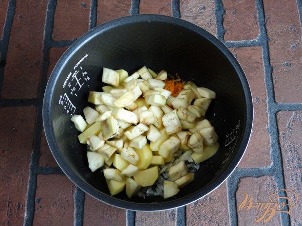 Овощи баклажаны в мультиварке рецепты пошагово в