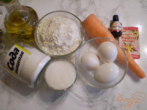 Рецепт Морковный бисквит