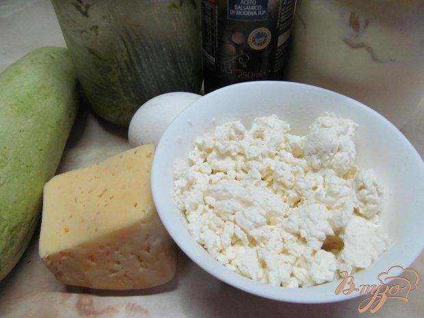 Рецепт Кабачковая запеканка с творогом