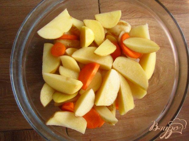 Рецепт Молодой картофель в мультиварке в сырно-сливочном соусе