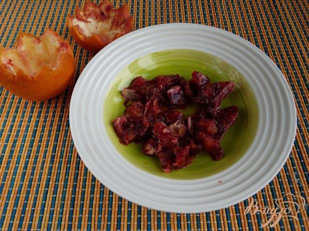 Рецепт Фруктовый салат в половинках апельсина