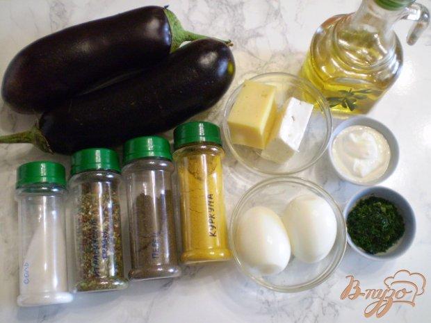 Рецепт Баклажаны с сырной начинкой