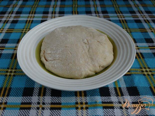 Рецепт Пирог-плетенка с вишней и сыром