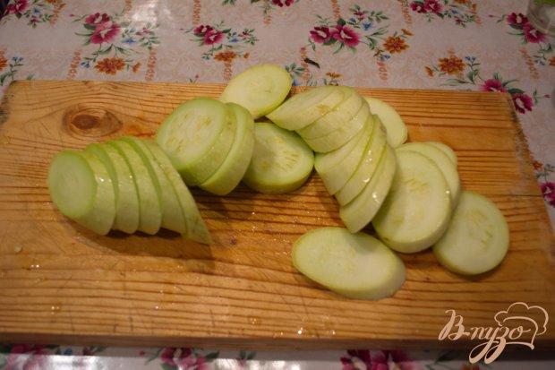 Рецепт Кабачки с брынзой и помидором