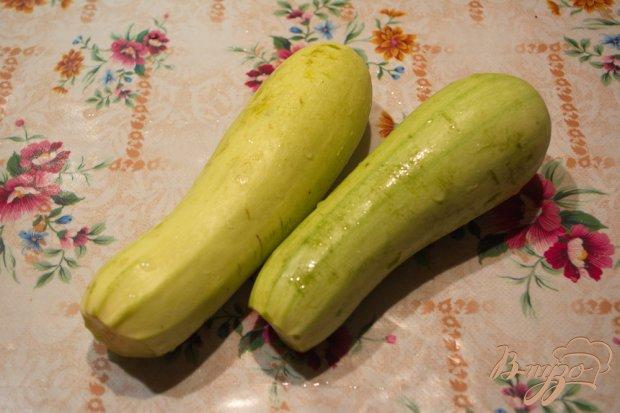 Рецепт Кабачки гриль с зеленью