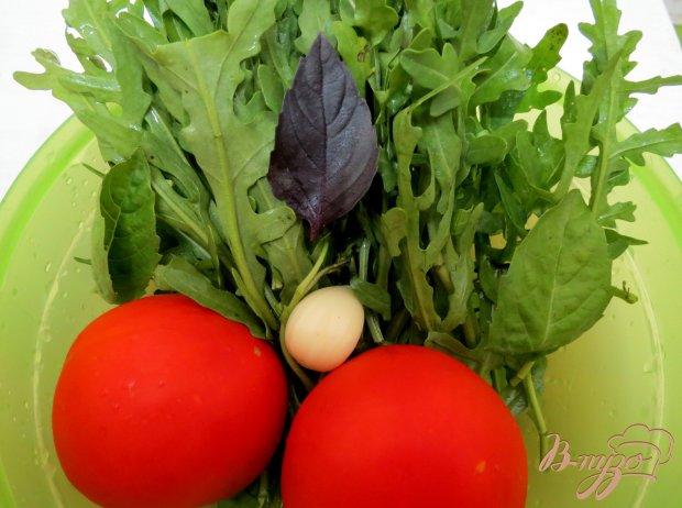 Рецепт Салат с рукколой и с помидорами