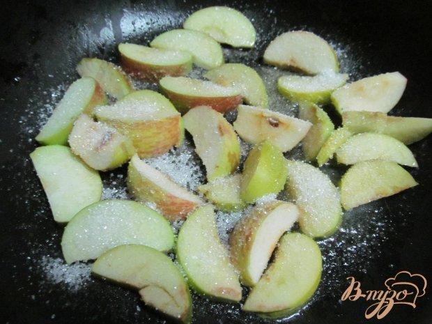 Рецепт Блинчики с яблочно-абрикосовой начинкой