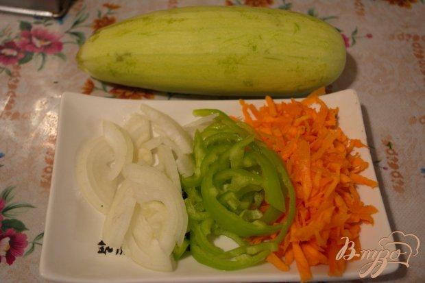 Рецепт Индюшатина, тушеная с кабачком и другими овощами