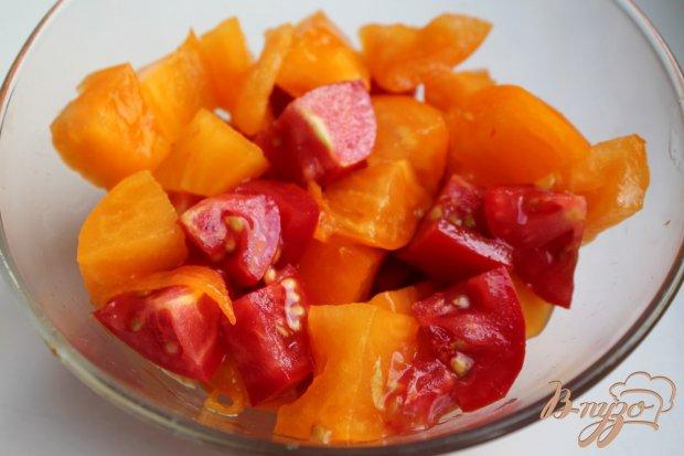 Рецепт Салат из помидор с базиликом и тархуном