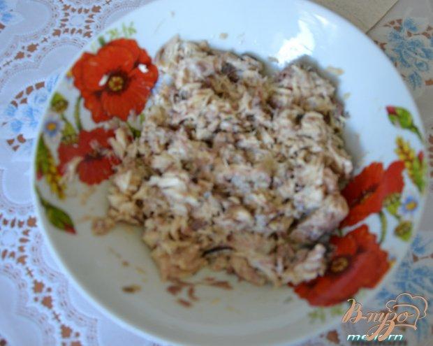 Рецепт Бутербродная намазка с яйцом, сыром и рыбой
