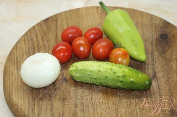 Рецепт Холодный овощной суп - пюре