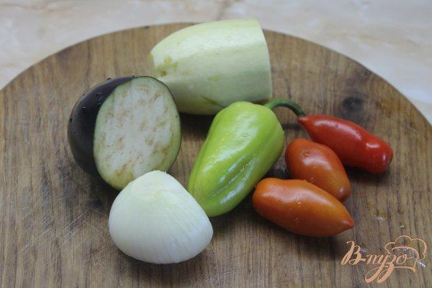 Рецепт Овощи гриль на сковороде