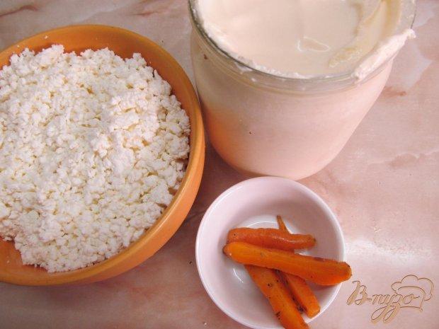 Рецепт Морковные кексы с беконом и бужениной