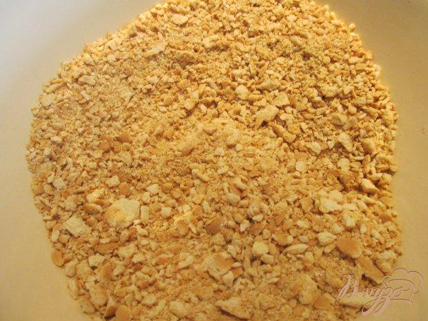 Рецепт Сладкая колбаска из галетного печенья и орехов