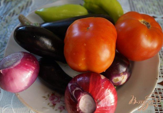 Рецепт Пикантный овощной салатик