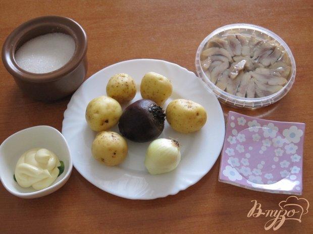 Рецепт Тарталетки из картофеля с сельдью