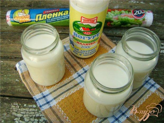 Рецепт Домашний йогурт и сладкий десерт на его основе