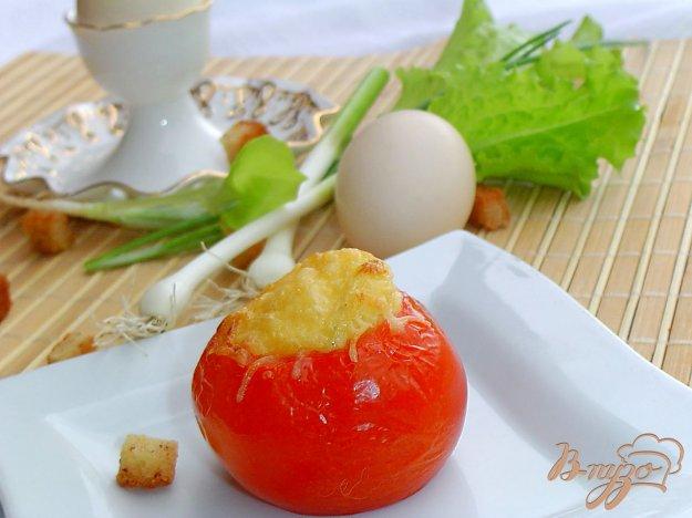 фото рецепта: Яичный завтрак в помидорах