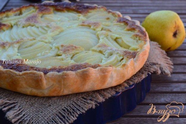 пирог с грушами в духовке пошаговый рецепт