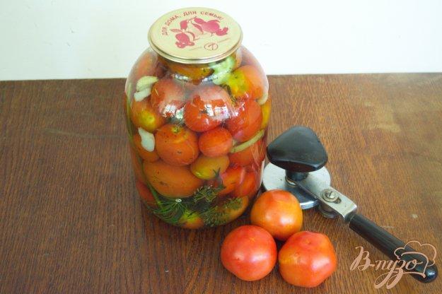 фото рецепта: Мамины помидоры на зиму