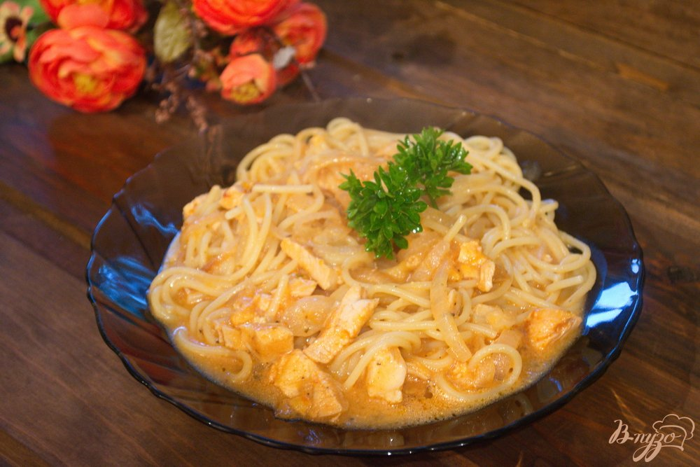 Макароны с соусом рецепты с пошагово