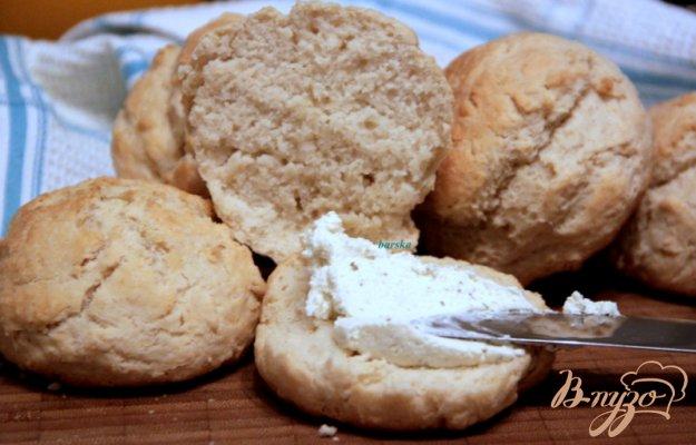 фото рецепта: Быстрые бездрожжевые булочки