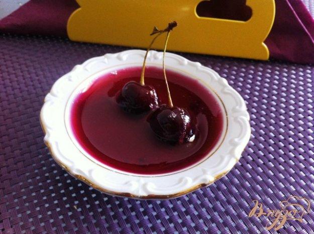 желе вишни рецепт с фото пошагово