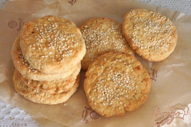 фото рецепта: Сырное печенье с имберем
