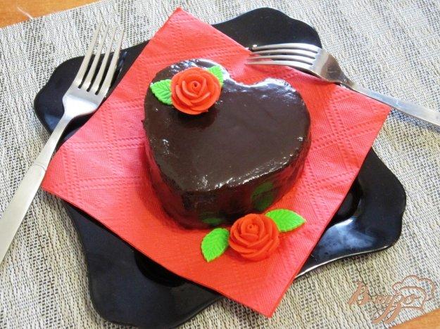фото рецепта: Пирожное романтическое