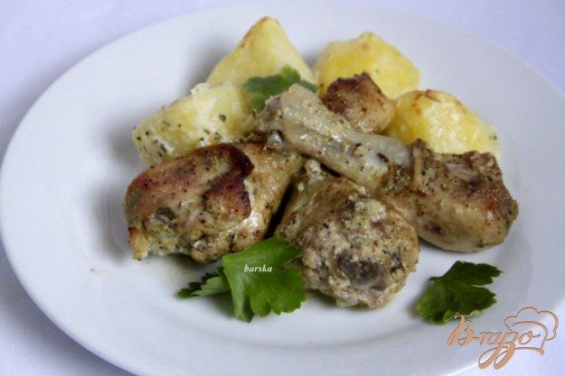 фото рецепта: Куриные голени в  горчичном маринаде