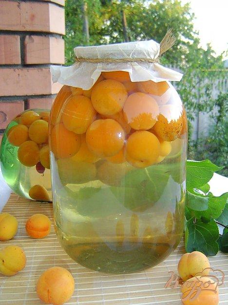 Компот з абрикосів. Як приготувати з фото