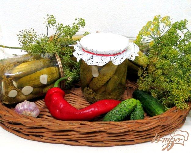 фото рецепта: Кисло сладкие огурцы по- польски