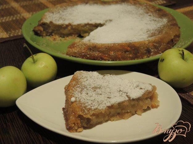 фото рецепта: Яблочная запеканка по-датски