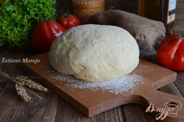 фото рецепта: Дрожжевое тесто с крупой кус-кус