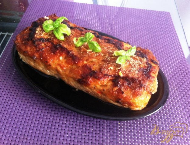фото рецепта: Мясной хлеб