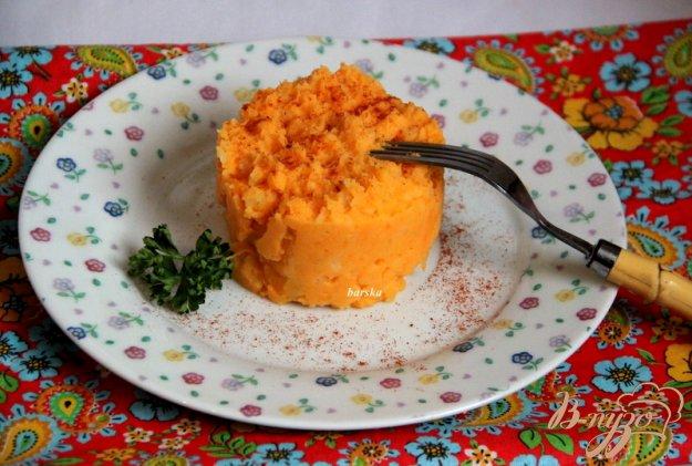 фото рецепта: Пюре с картофелем и бататом