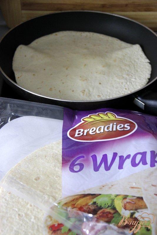 Рецепт Закусочные рулетики Wraps