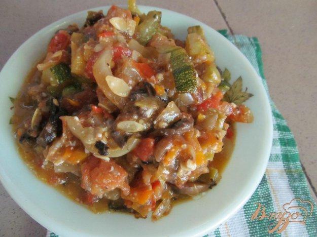 фото рецепта: Овощное рагу с шампиньонами