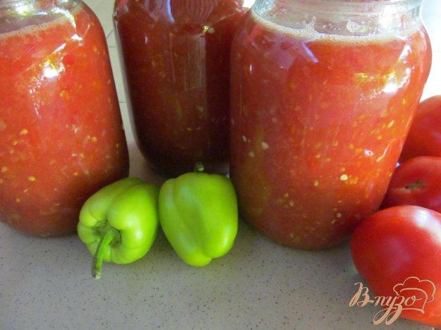 фото рецепта: Морс из томатов с перцем