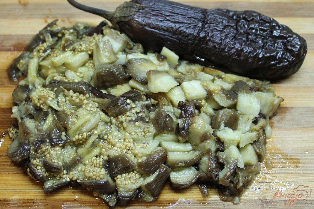 Печеный баклажан на зиму рецепт с фото
