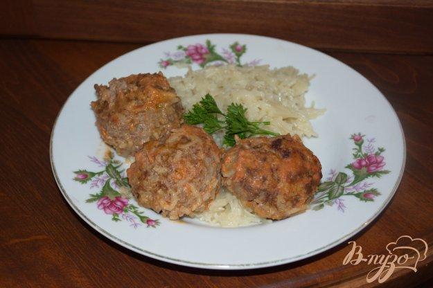 фото рецепта: Мясные тефтели под сметанно-томатным соусом